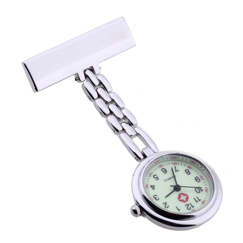 TOOGOO(R) Nurse Doctor Brooch Pocket Fob Pendant Quartz Watch New