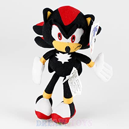 "Sonic the Hedgehog Shadow Plush Toy 7"" Stuffed Doll"