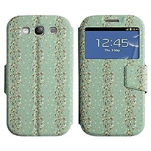 LEOCASE pequeña mariposa Funda Carcasa Cuero Tapa Case Para Samsung Galaxy S3 I9300 No.1003546