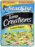 Starkist Tuna Creations, Lemon Pepper, Single Serve 2.6-Ounce Pouch (Pack of 8)