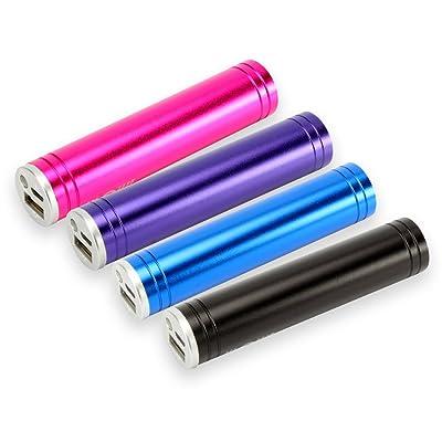 HyCell 1700–0025 Batterie externe pour téléphone portable 2000mAh + lampe de poche LED