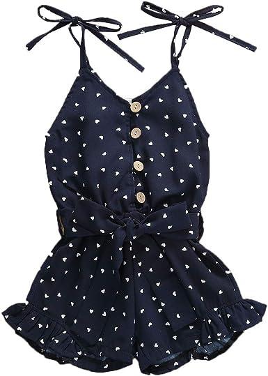 African American Art Baby Girls Summer Dress Outfits Ruffle Short T-Shirt Romper Dress,One-Piece Jumpsuit