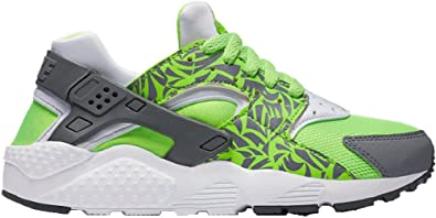 lowest price 86ace eb5c2 Nike Huarache Run Print (GS) Boys Sneakers, Size 3.5 US Big Kids Green