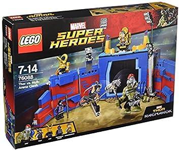 LEGO Super Heroes Thor vs Hulk: choque la arena
