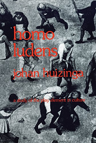 Cover of Homo Ludens: A Study of the Play-Element in Culture