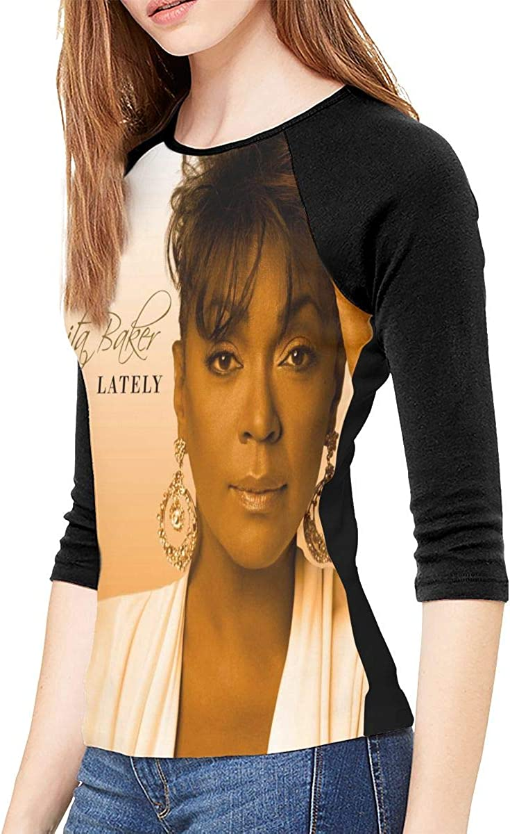 Joshpilfer Anita Baker Rapture Woman Raglan Long Sleeve T-Shirt Classic Polyester Tee