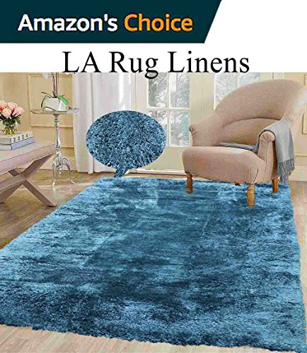 aqua colored rug - 7