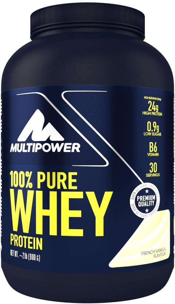 Multipower 100% Whey Protein French Vanilla - 900 gr