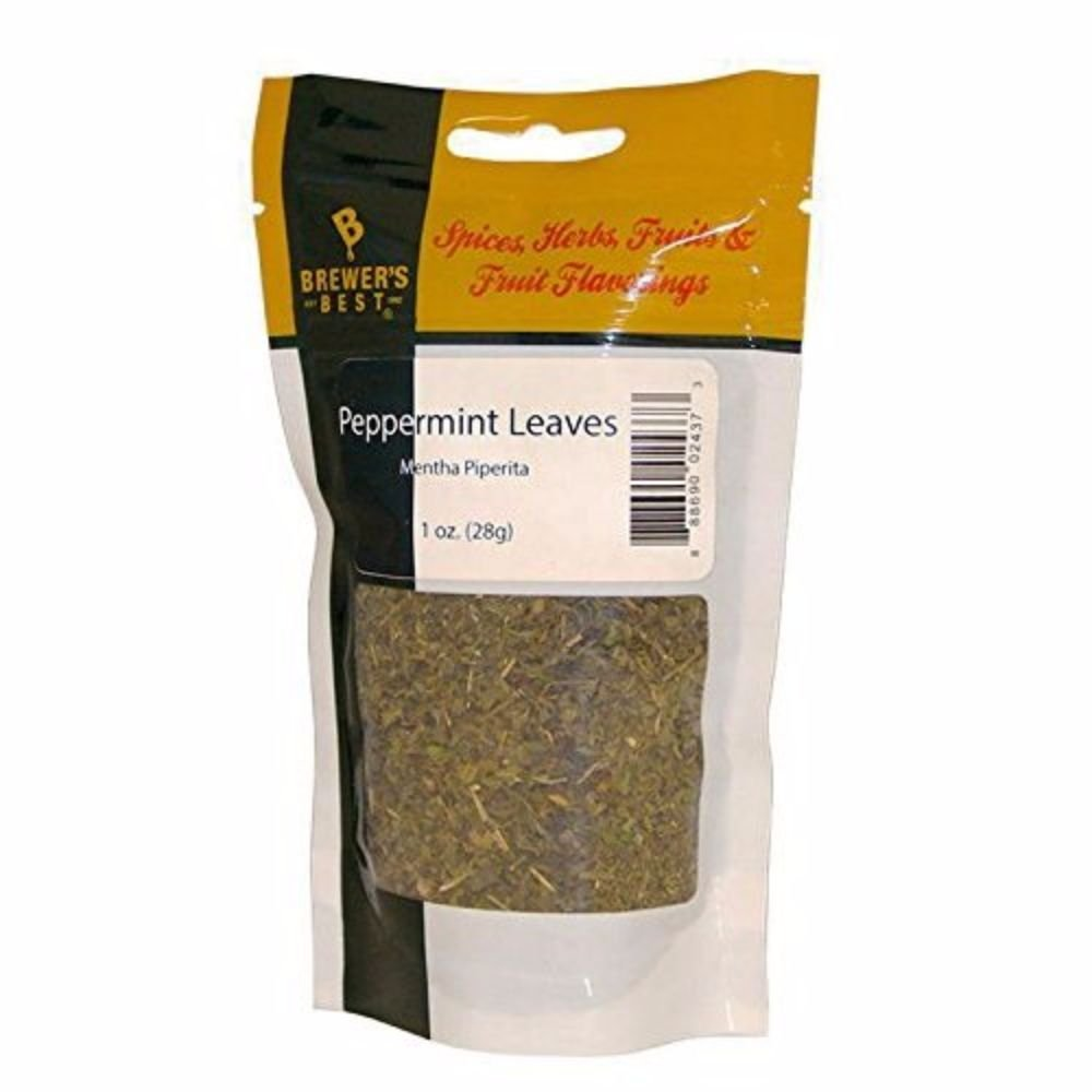 Home Brew Ohio Brewers Best Peppermint Leaves 1 oz HOZQ8-182