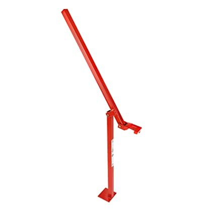RanchEx 102567 T-Post Puller - for Removal of Studded T Posts, One Person  Operation - Red