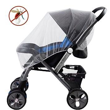 2771be121b Moskitonetz für Kinderwagen, Samione Universal Insektenschutz Baby Moskito  Netz Insektenschutz für Kinderwagen, Buggy,