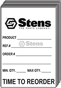 Time To Reorder Tag by Stens Stens part #785-049