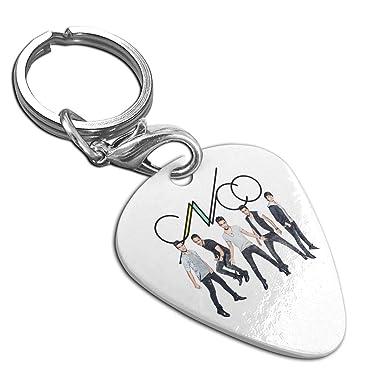 Amazon.com: Collar con colgante de púa de guitarra CNCO ...