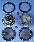 J&M Corporation HURK-6712TW-XXR Rocker Speaker Kit Xxr Series 6.71 Rear Trunk Speaker, 1 Pack