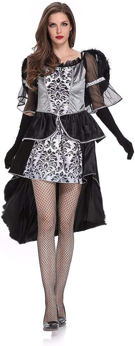 Goosun Disfraz De Dama De Halloween Ángel Oscuro Vestido Largo ...