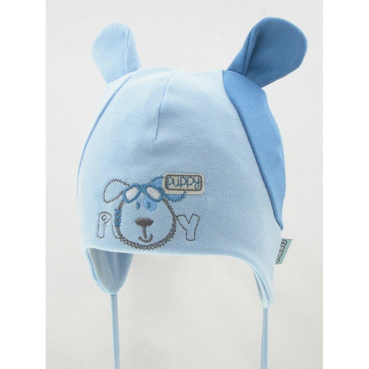 New Baby Boy Cotton Hat Boys Spring Autumn Cap Hat 0-18 Months 9-12 Months 46cm, Cream