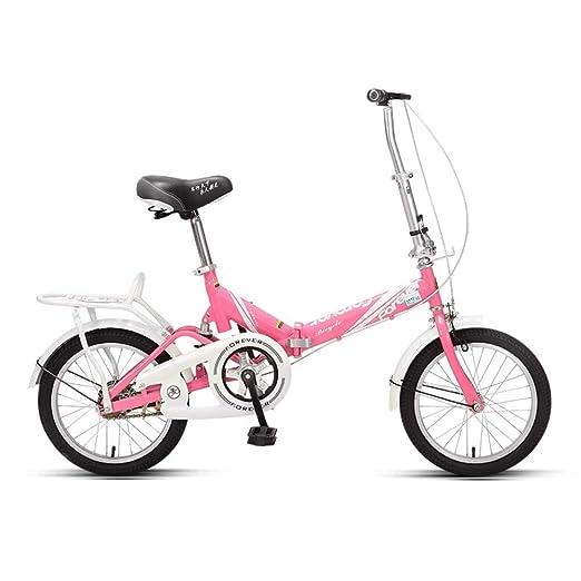 ZLXLX Bicicleta Plegable Permanente Hombres Y Mujeres Adultos ...