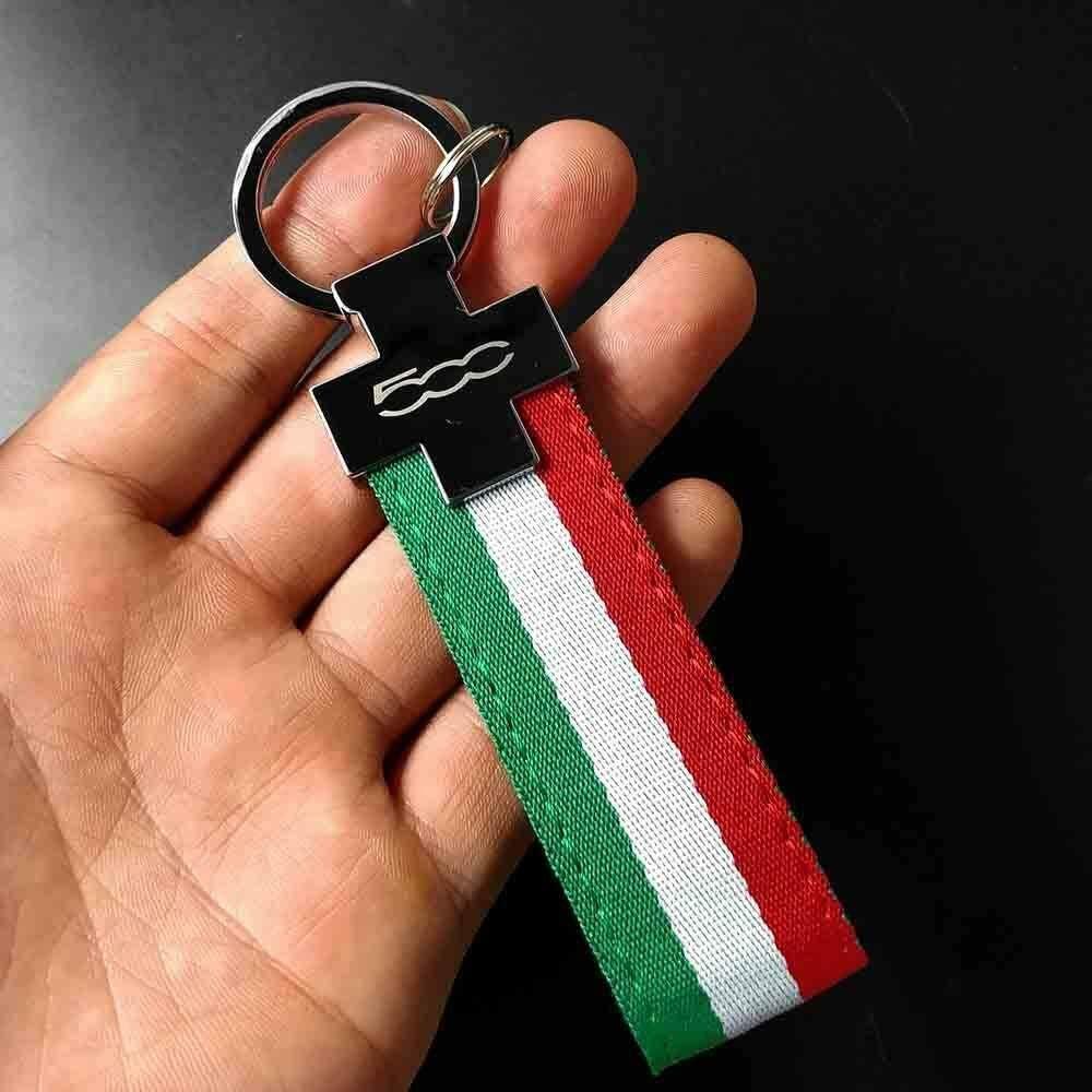 PSL Limited Edition Portachiavi in pelle per Fiat 500 auto