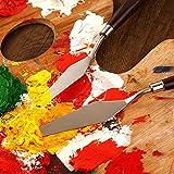 5 pcs Painting Mixing Scraper, Marrywindix