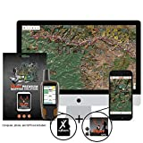 onXmaps HUNT Illinois Chip For GPS Public/Private Land Ownership 24k Topo Maps for Garmin GPS Unit (microSD/SD Card) + Premium Membership For Smartphone, and Computer