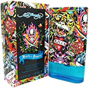 Ed Hardy Hearts and Daggers by Christian Audigier for Men - 3.4 oz EDT Spray