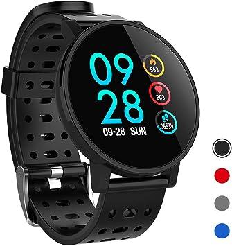 Amazon.com: Cratec W7 - Reloj inteligente con monitor de ...