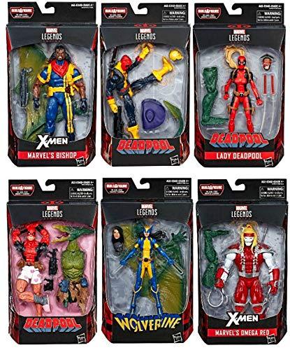 MCU Deadpool Marvel Legends Wave 2 Set of 6 (Sauron BAF)