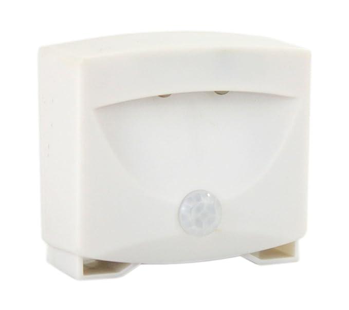 Luz nocturna LED con Sensor de movimiento 2 x ledes Sensor para luz de escaleras lámpara de luz lámpara 75: Amazon.es: Iluminación