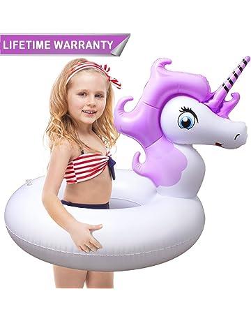 Inflable Flotador de Piscina, HooYL Hinchables Colchonetas Flotador Unicornio Juguete de Piscina para los Niños