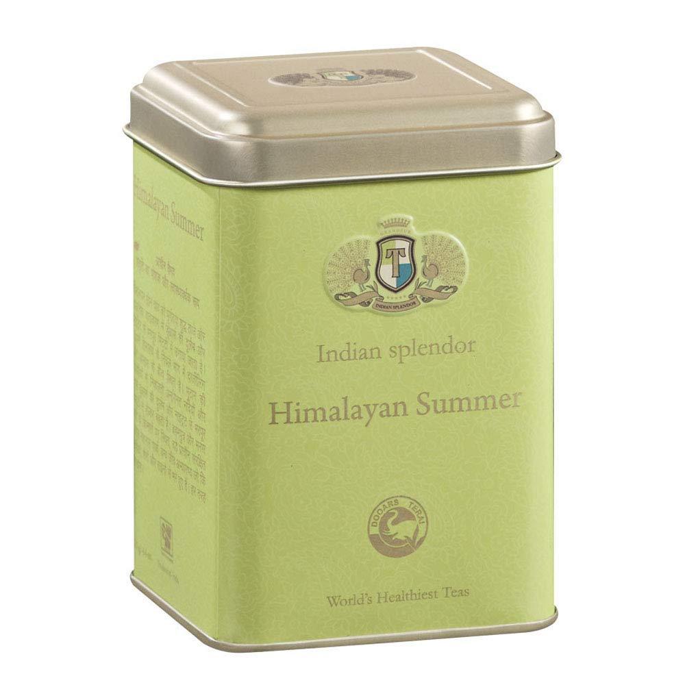 INDIAN SPLENDOR Himalayan Summer - Premium Dooars Green Leaf Tea - Light and Tangy - 4.4oz (63 cups)