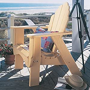 Uwharrie Chair Company Fanback Collection Adirondack - Pine - Rustic Red