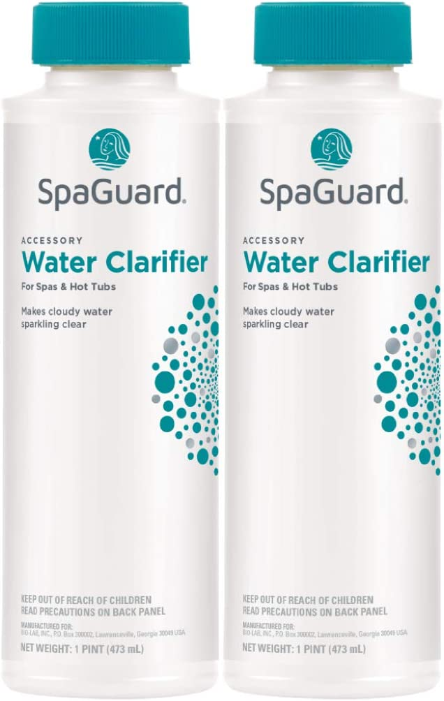 SpaGuard Water Clarifier for Spas /& Hot Tubs Clear Cloudy Water /& Not Affect pH