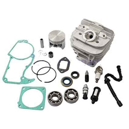 shuihuo 48mm Cylinder Piston Kits Stihl 036 MS360 Chainsaw w/Decom  Port