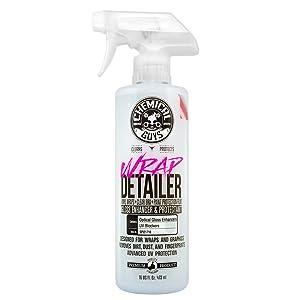 Chemical Guys SPI21716 Wrap Detailer Gloss Enhancer & Protectant, 16 fl. oz
