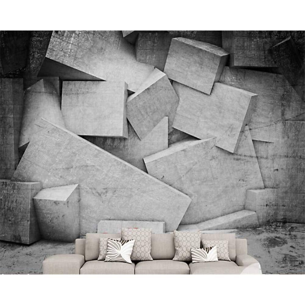 ganancia cero 250x175cm 250x175cm 250x175cm YYBHTM Dormitorio Mural De Fondo Papel Tapiz 3D Fondo De Sala De EEstrella Geométrico Abstracto 3D Mural  punto de venta