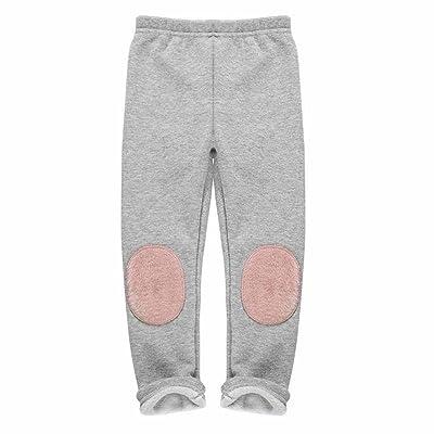 amazingdeal Girls children Winter Personalized Cloth Stick Loose Warm Leggings Pants