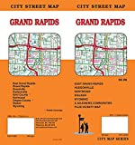 Grand Rapids Michigan Street Map