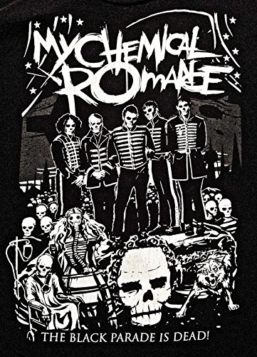 My Chemical Romance, was an American Rock Band from Newark, New Jersey 12 x 18 inch Poster (Best Bands From New Jersey)