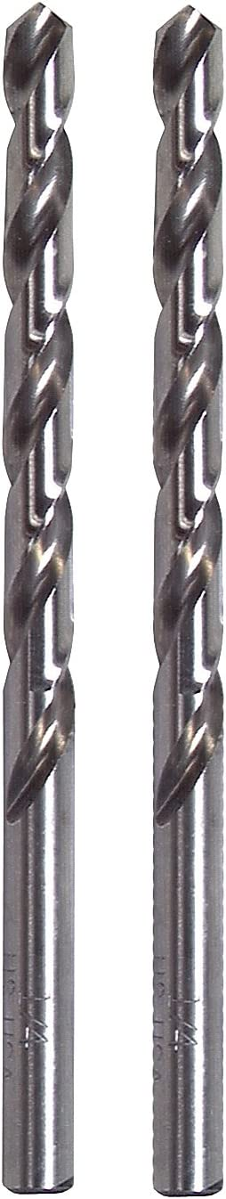 2-Pack Vermont American 10196 1//8-Inch HSS Jobber Drill Bit