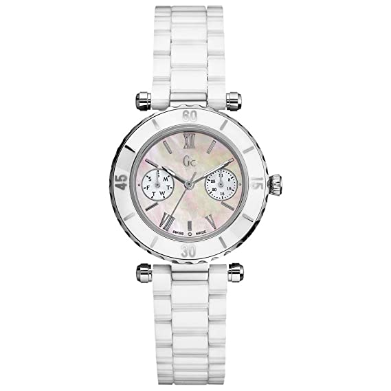 Gc Guess Collection Diver Chic Reloj para mujeres Con elementos de cerámica: Gc: Amazon.es: Relojes