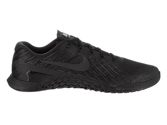 Amazon.com | Nike Metcon 3 Size 8 Mens Cross Training Black/Black Shoes |  Fitness & Cross-Training