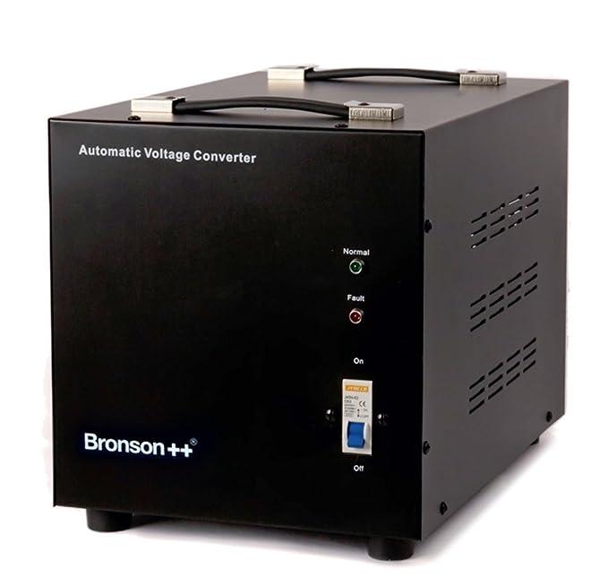 6 opinioni per Bronson++ AVT 3000- Convertitore di tensione 110/120 Volt- Trasformatore di