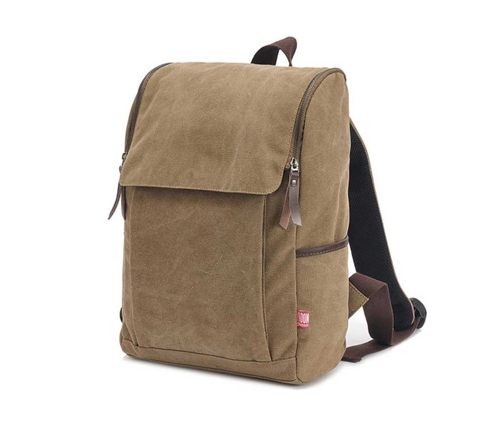 Amyannie Sports Travel Shoulder Portable Canvas Bag Men's and Women's Shoulders Backpack Student's Book Mountaineering Bag