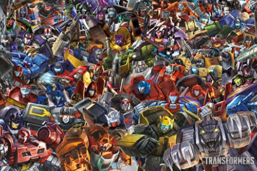 Transformers - Collage Poster 36 x 24in
