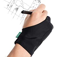 Parblo PR-05 Drawing Glove, Two Fingers Gloves for Graphics Drawing Tablet, Pen Display, Tablets, Displays, Art Painting…