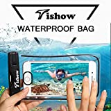 2017 TISHOW Waterproof Case Universal Dry Bag Cellphone Pouch for Outdoor Activities for Devices up to 6.0 for iPhone 7/7 Plus/6s / Plus / 6 / 5s / 5 / 5c