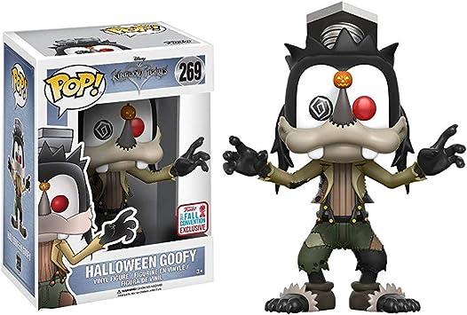 Todo para el streamer: Funko - Figura Disney - Kingdom Hearts - Goofy Halloween - Merchandising Videojuegos