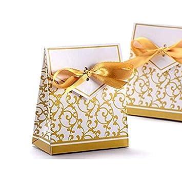 regalos 50 ALMOHADA CAJAS BODA favores Negro Joyas