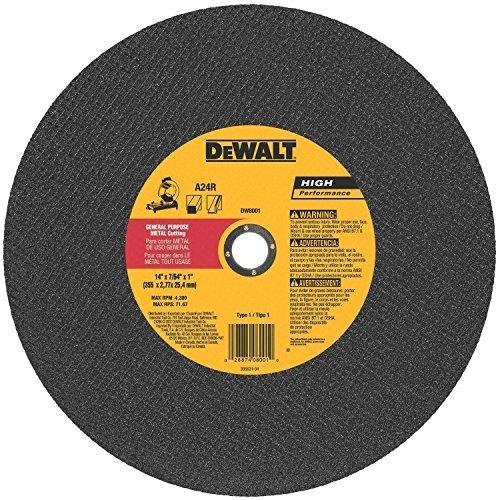 DeWalt Abrasive Cut Off Wheels - 5 - Wheel Abrasive Saw Cut Off