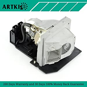 5100MP 310-6896 Replacement Lamp with Housing for Dell 5100MP